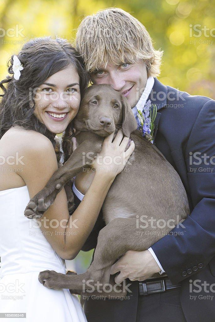 Wedding Portraits royalty-free stock photo