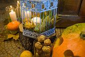 Wedding pumpkins decor