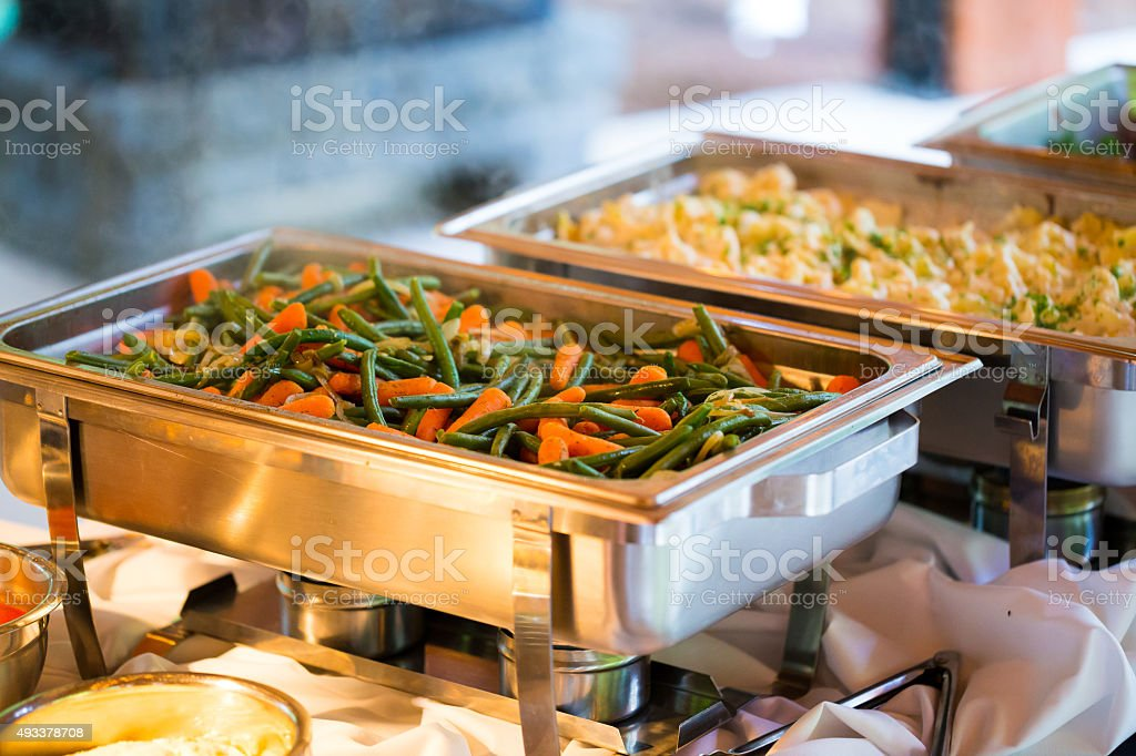 Wedding Reception Catering stock photo