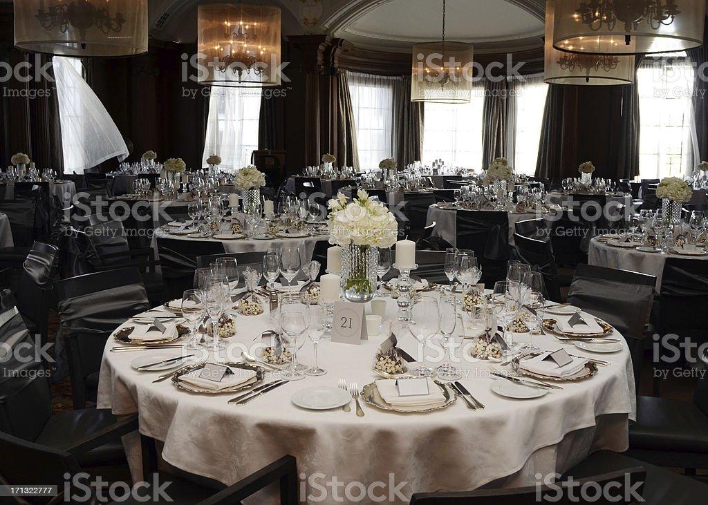 Wedding Reception Detail royalty-free stock photo