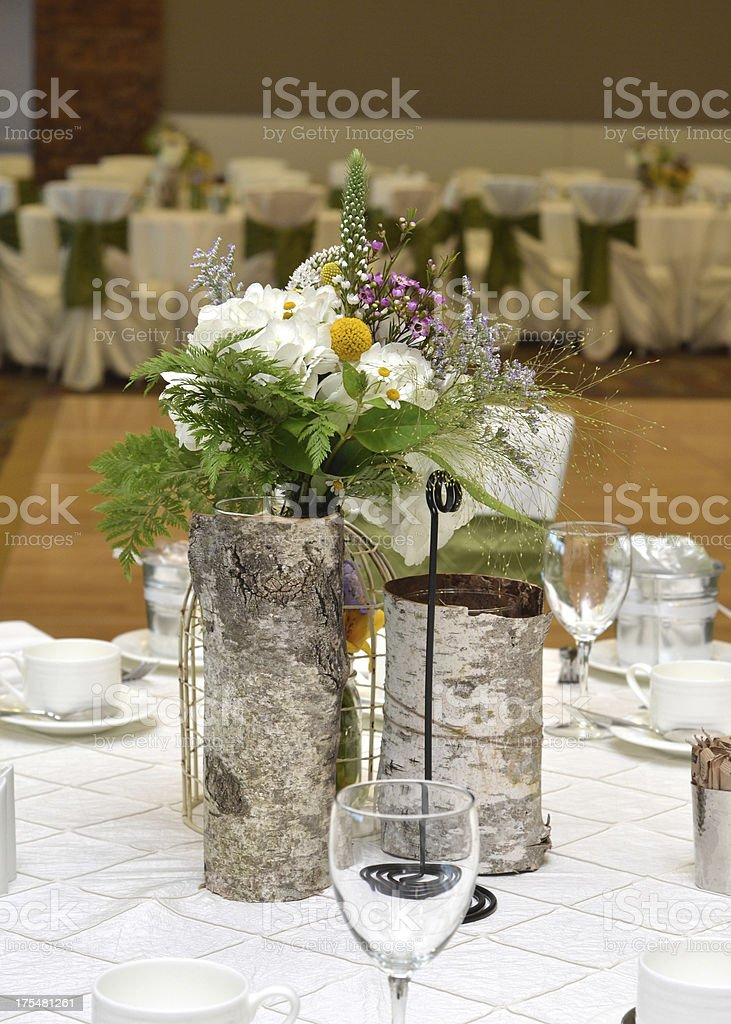 Wedding Reception Detail royalty-free stock photo