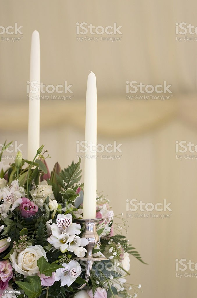 Wedding Reception Flowers royalty-free stock photo