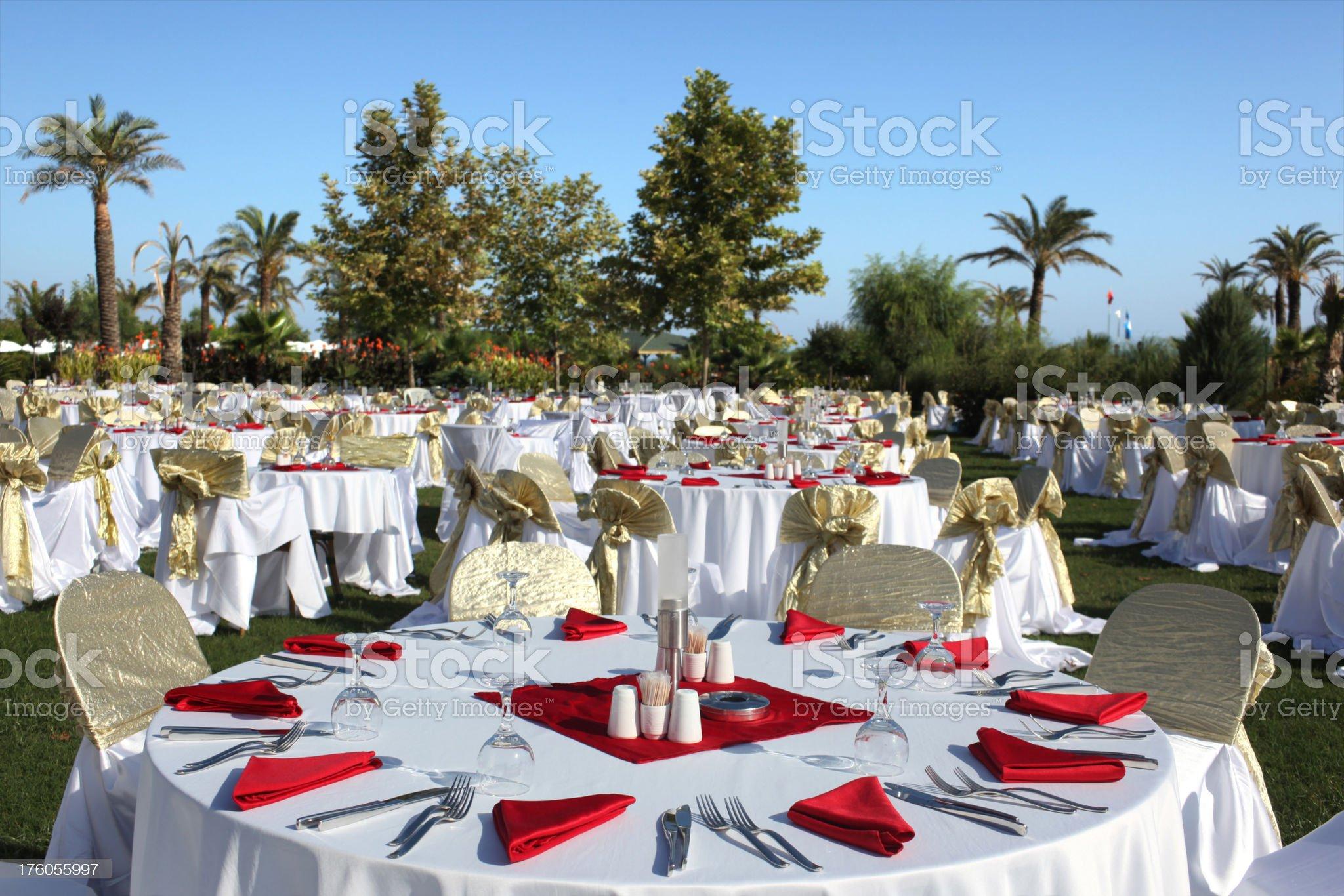 Wedding reception. royalty-free stock photo
