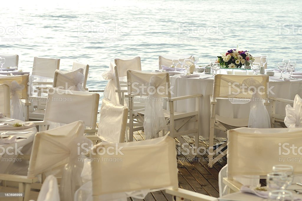 Wedding reception royalty-free stock photo