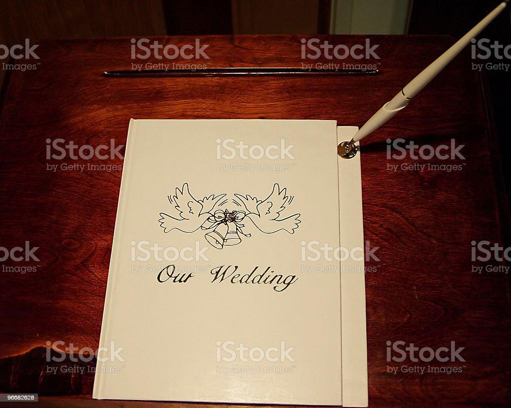 wedding registry royalty-free stock photo