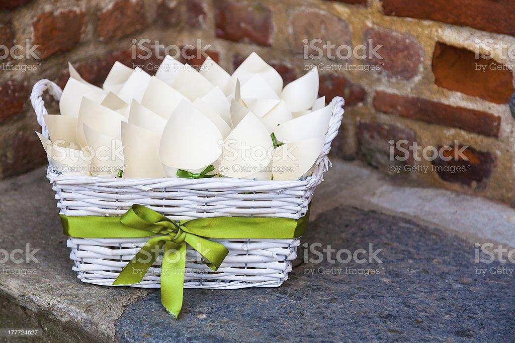 wedding rice royalty-free stock photo