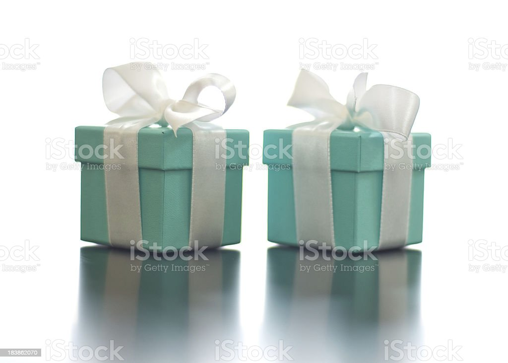 Wedding Ring Boxes stock photo