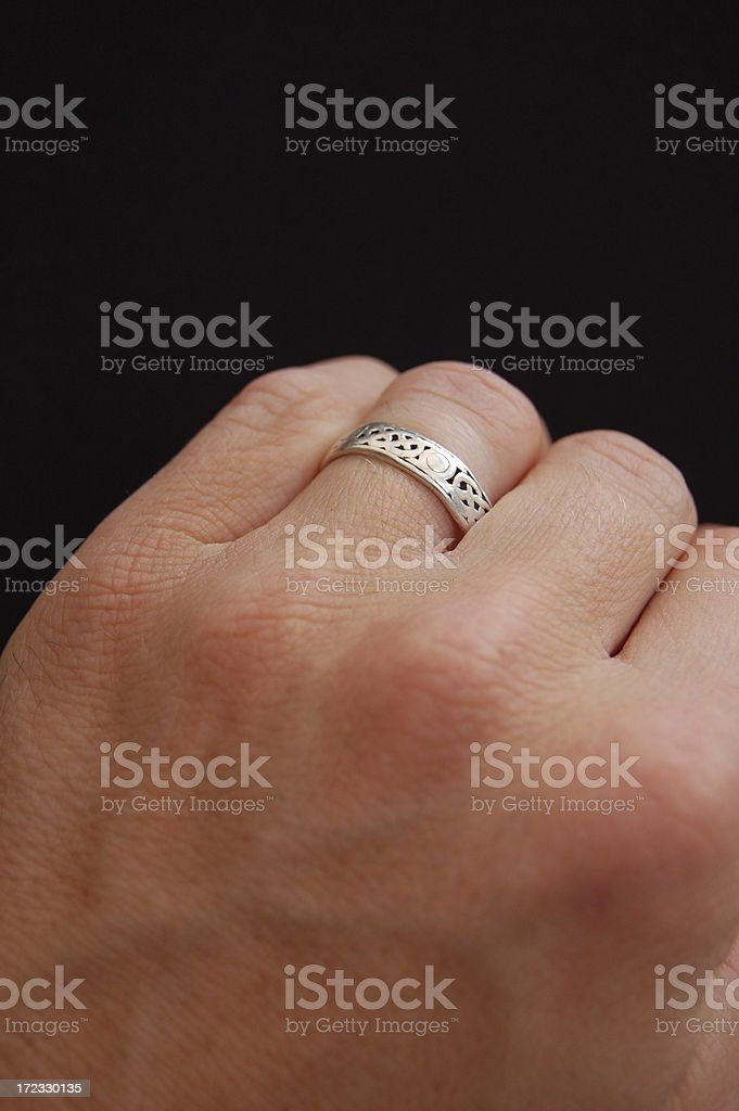 Wedding ring . royalty-free stock photo