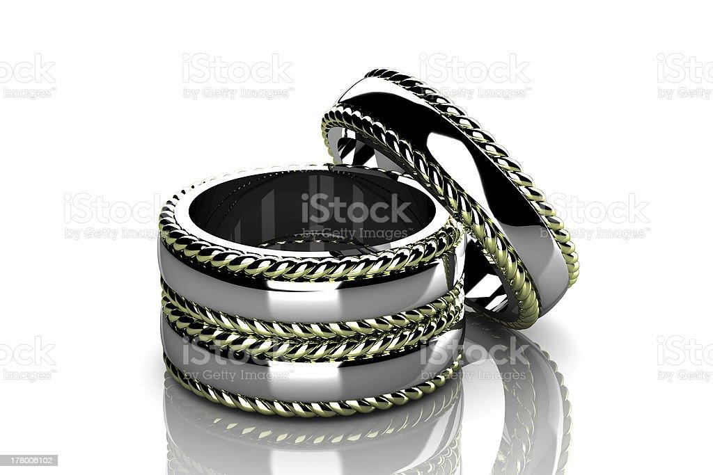 wedding ring royalty-free stock photo
