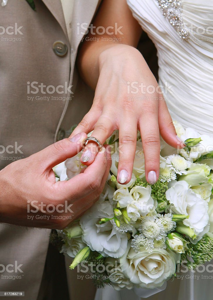 Wedding Ring royalty-free stock photo
