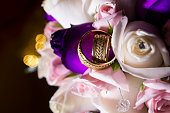 Wedding rings and romance