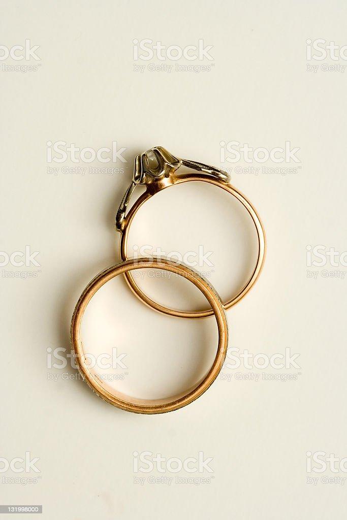 Wedding rings II royalty-free stock photo