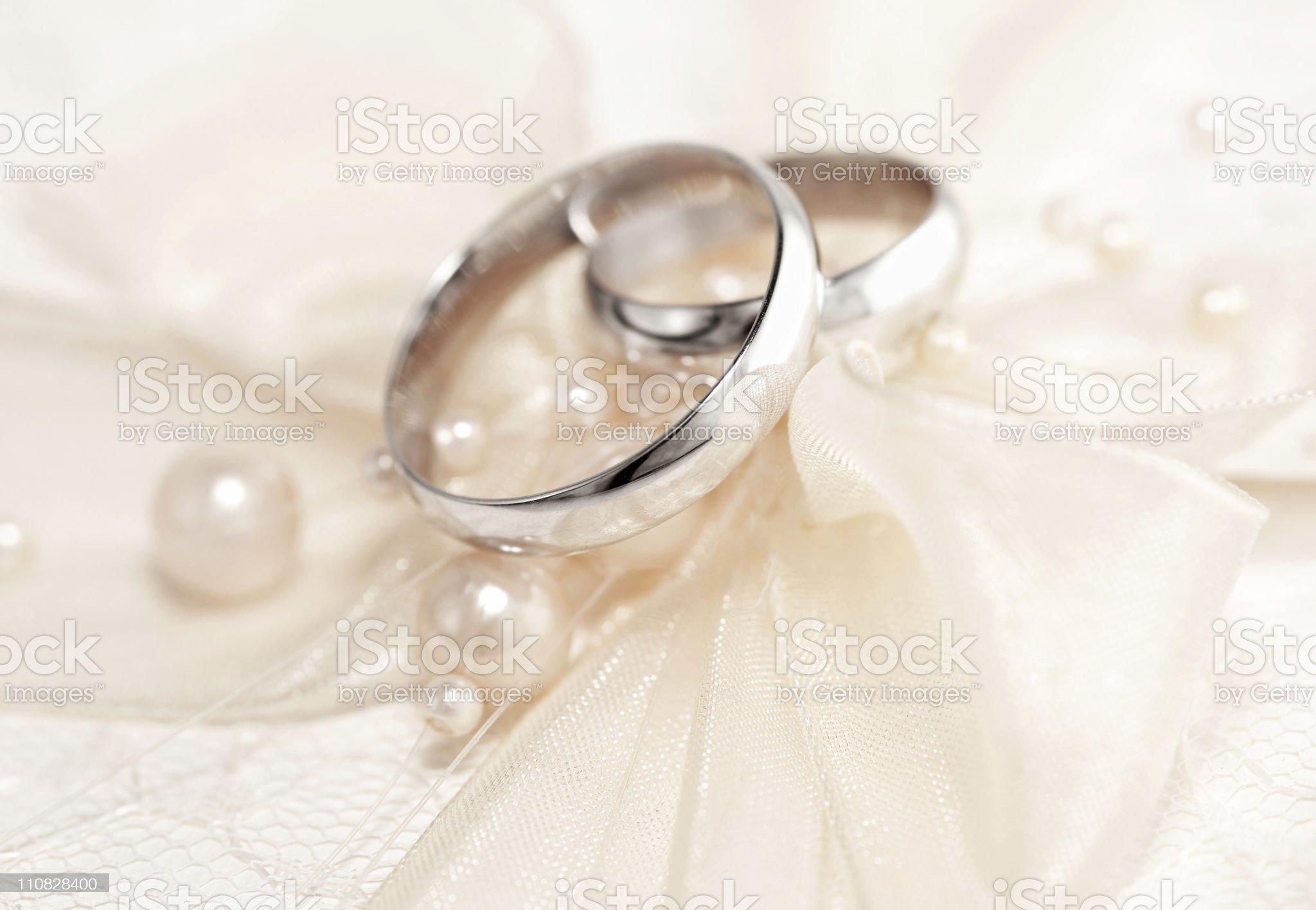 Wedding rings royalty-free stock photo