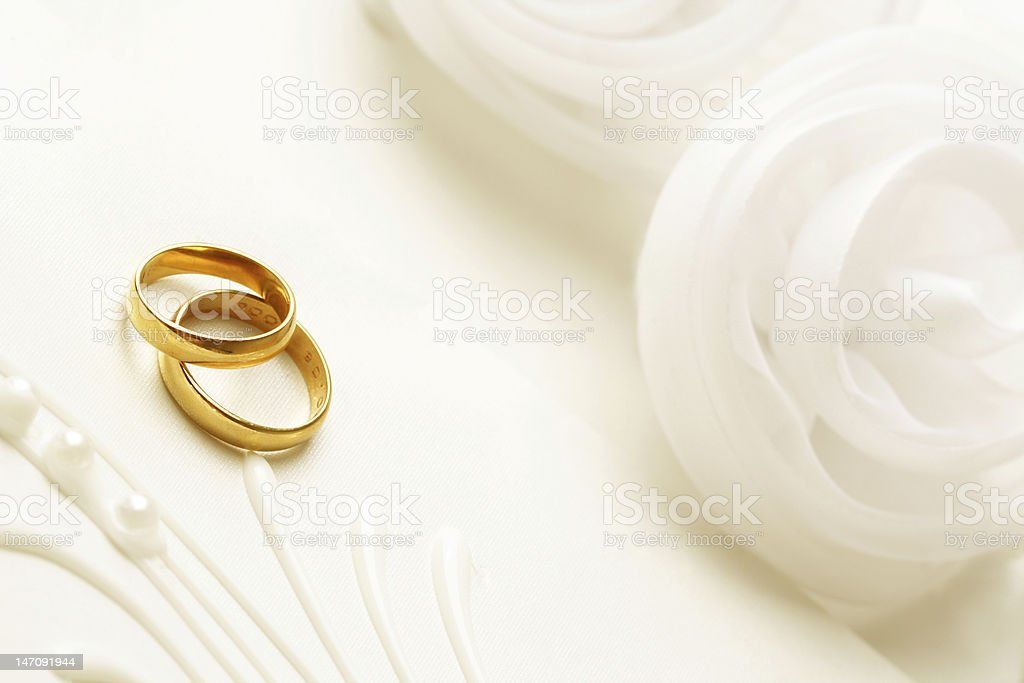 wedding rings royalty-free stock photo