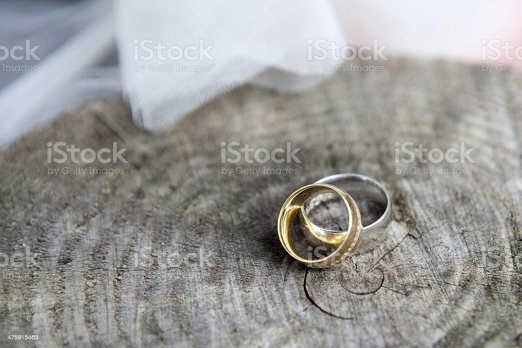 Wedding rings. stock photo