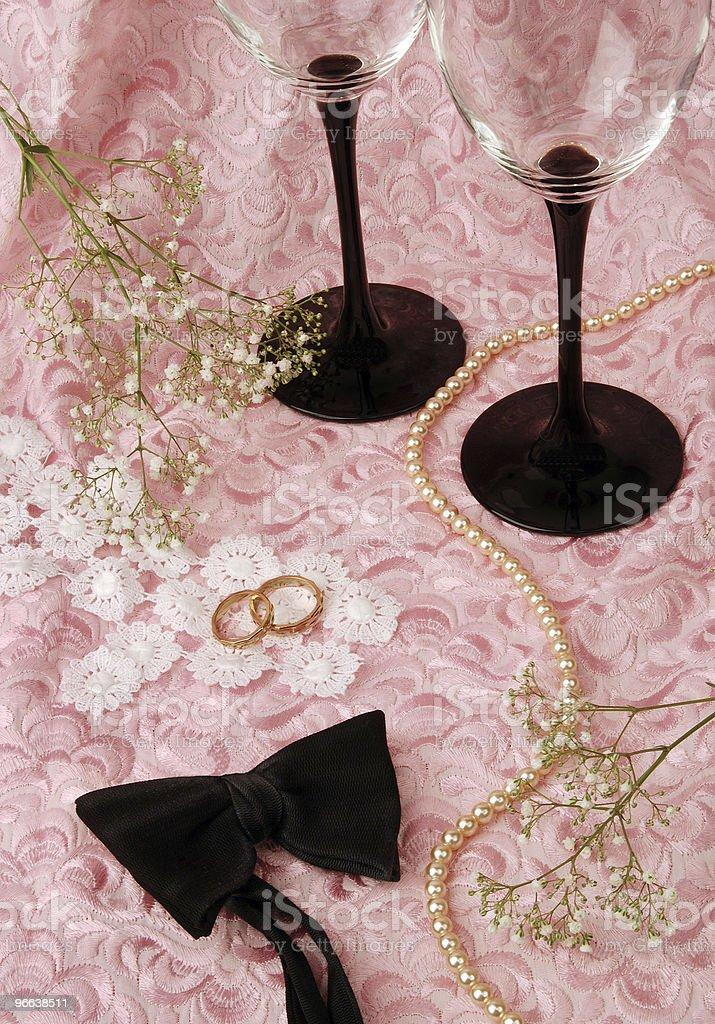 Wedding romance royalty-free stock photo