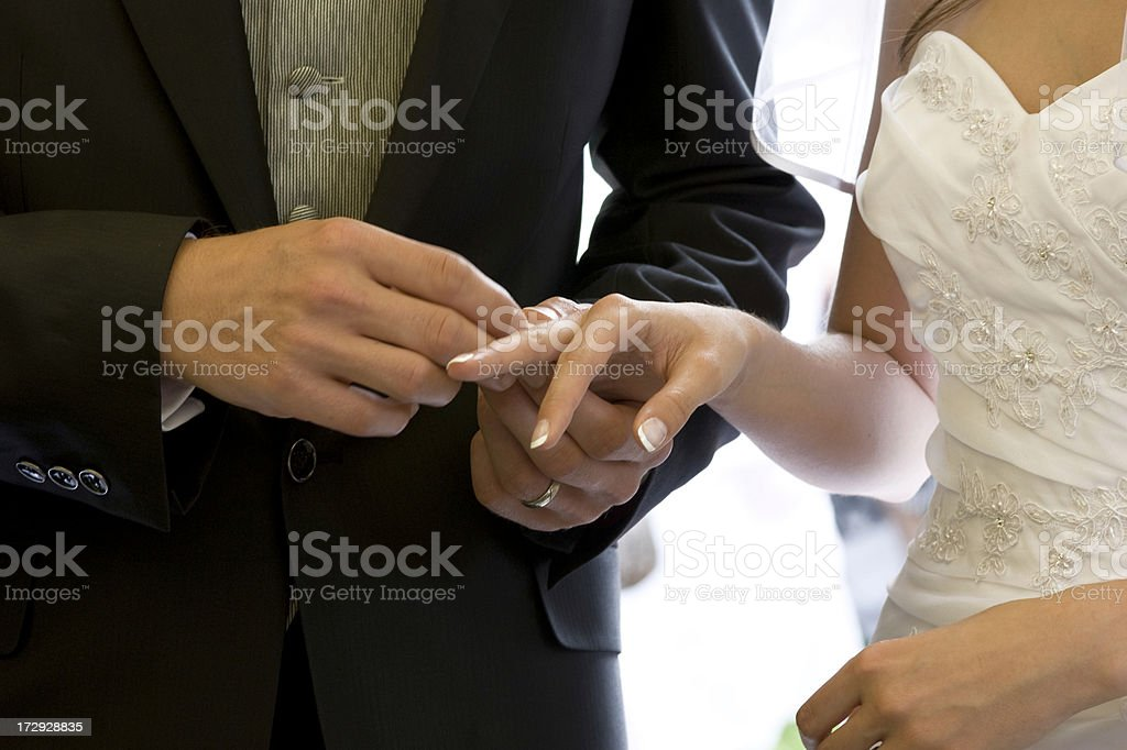 Wedding Series Claudia und Joachim royalty-free stock photo