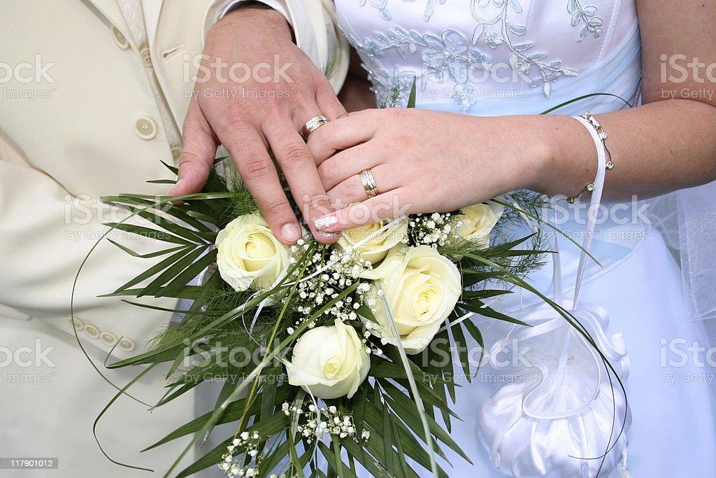 Wedding series royalty-free stock photo