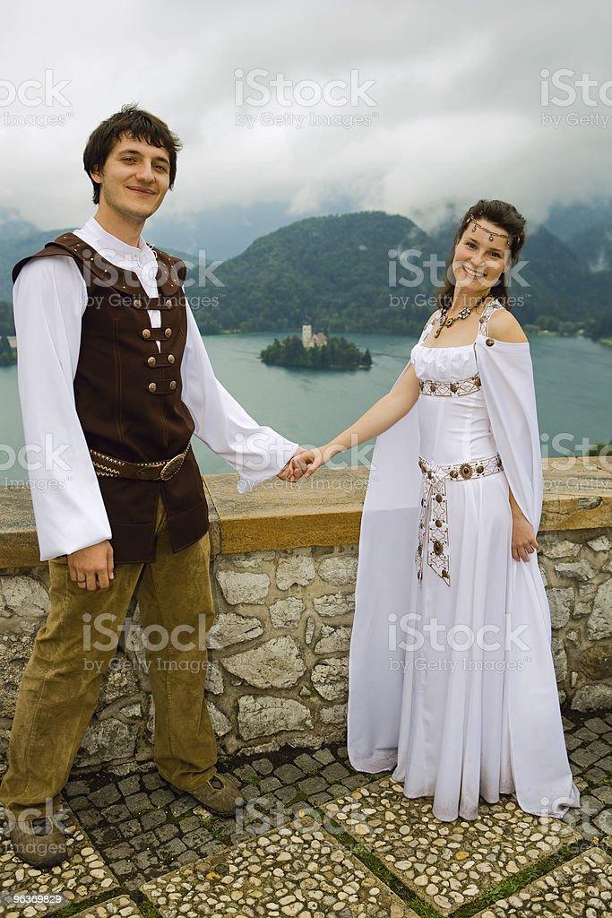 Wedding shot royalty-free stock photo