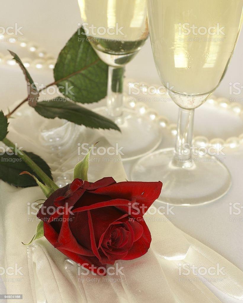 Wedding still life royalty-free stock photo