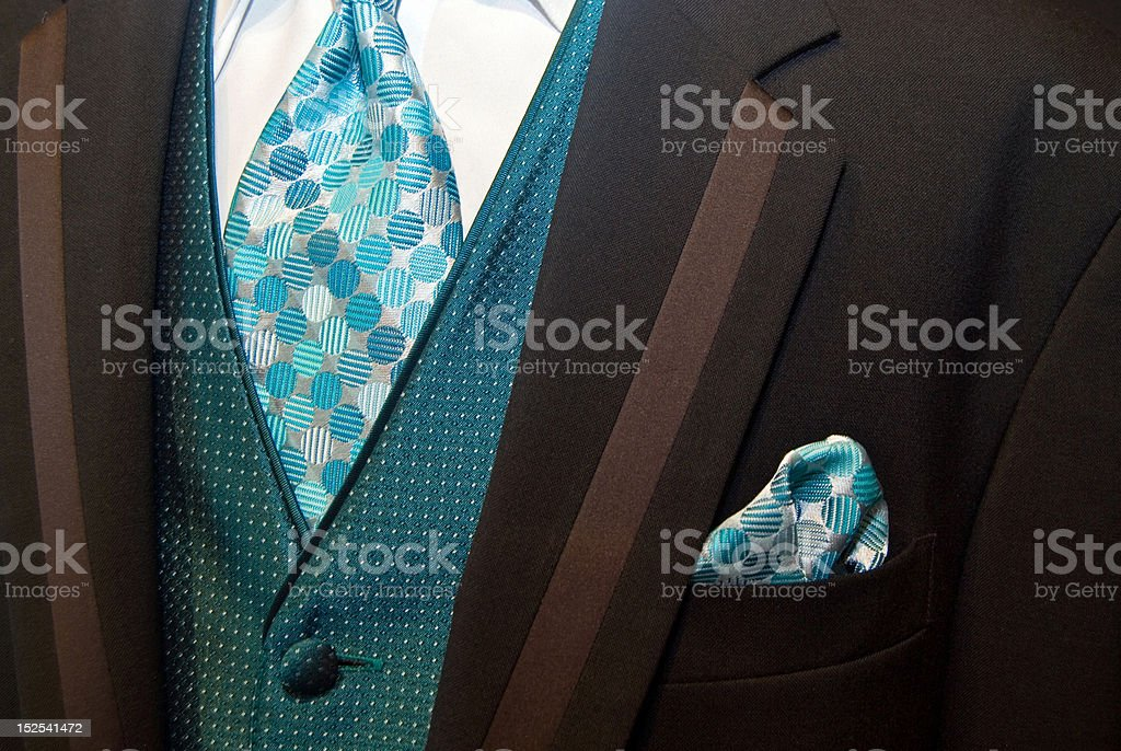 Wedding Suit royalty-free stock photo