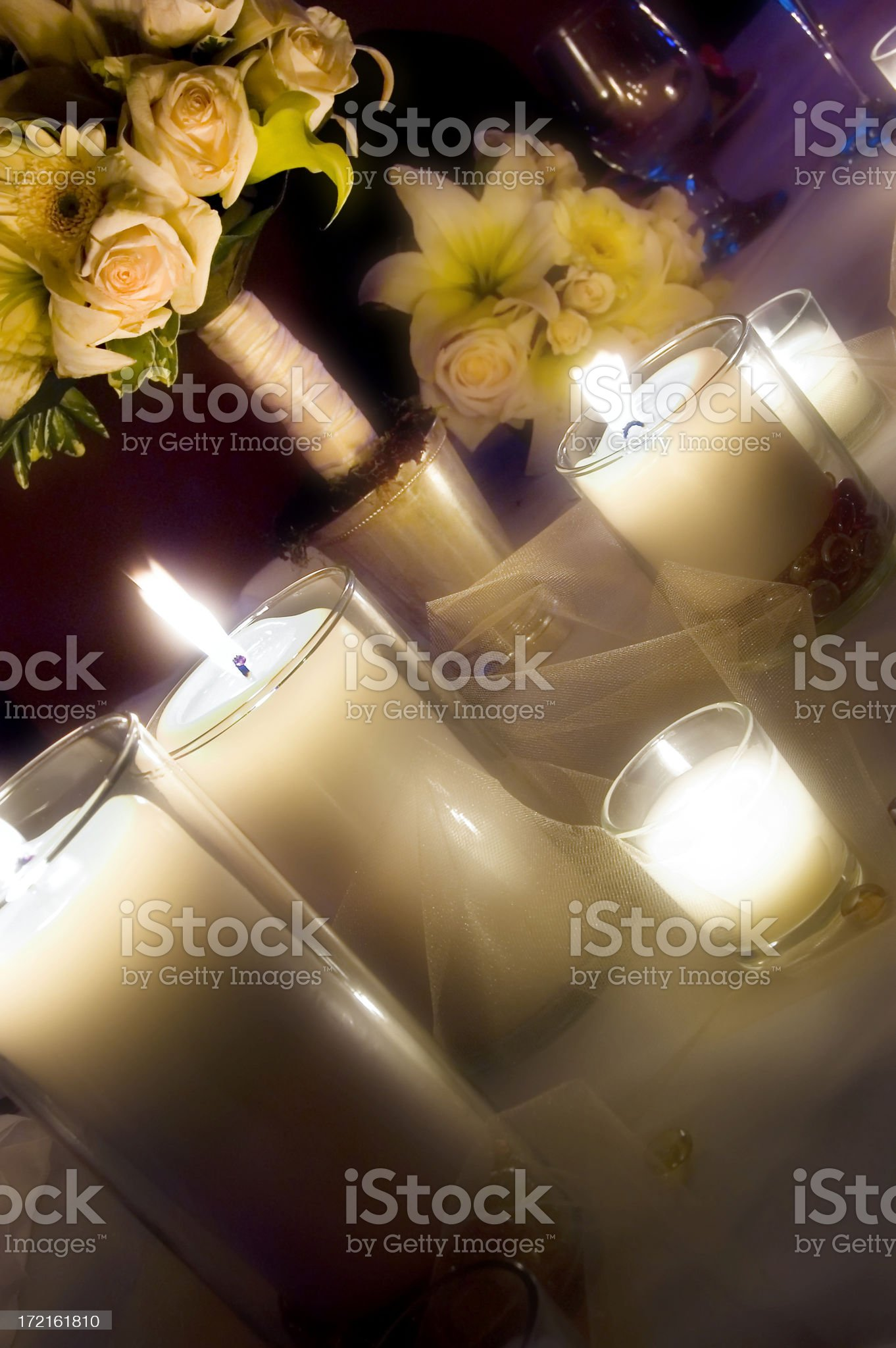 Wedding table royalty-free stock photo