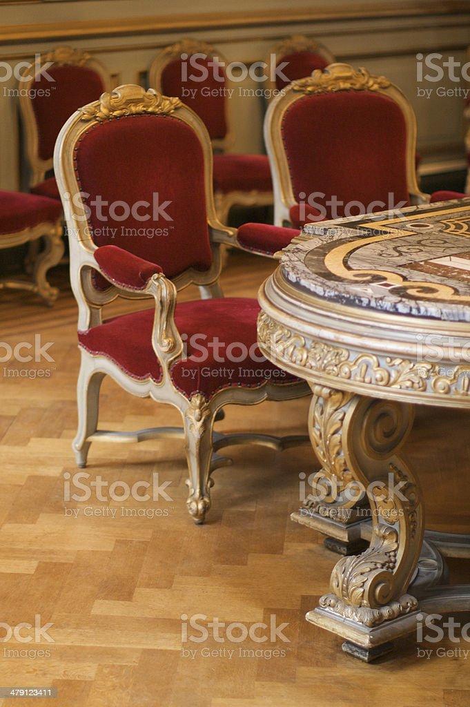 Wedding Table stock photo