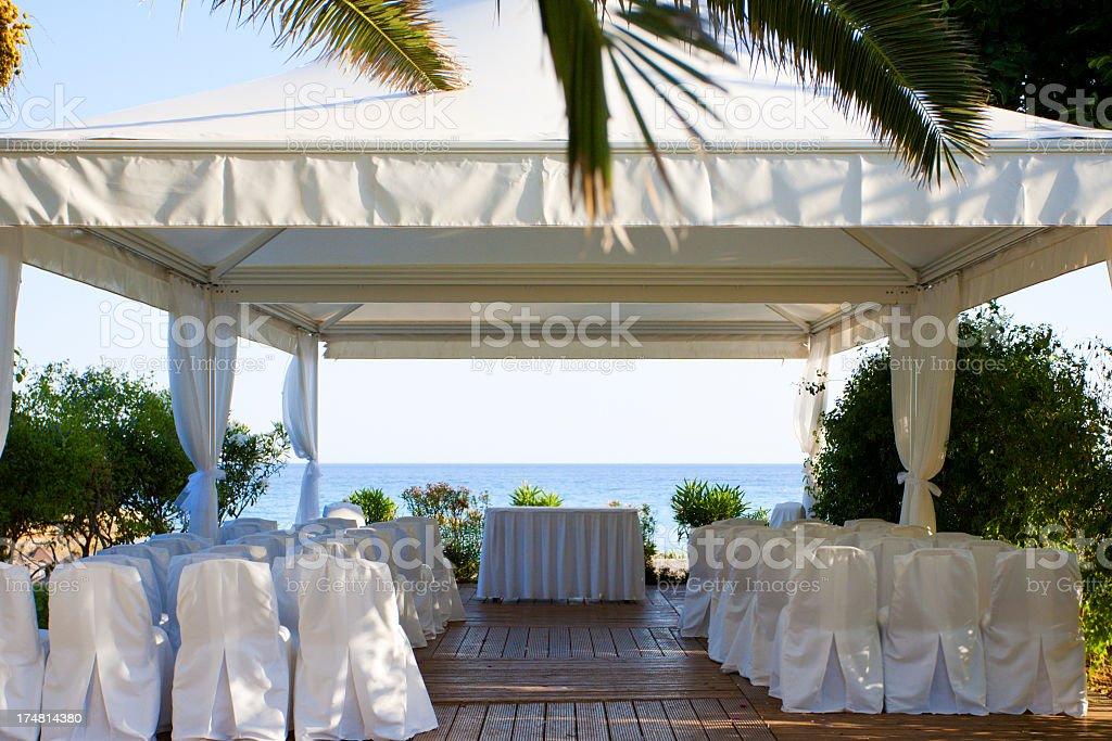 wedding tent royalty-free stock photo