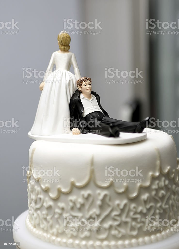 wedding topper stock photo