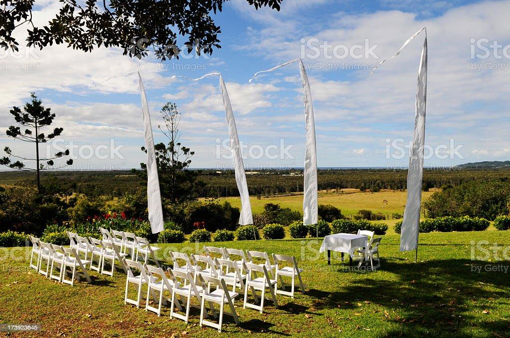 Wedding venue royalty-free stock photo