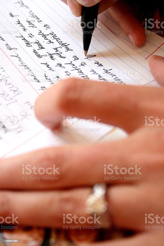Wedding Vows stock photo