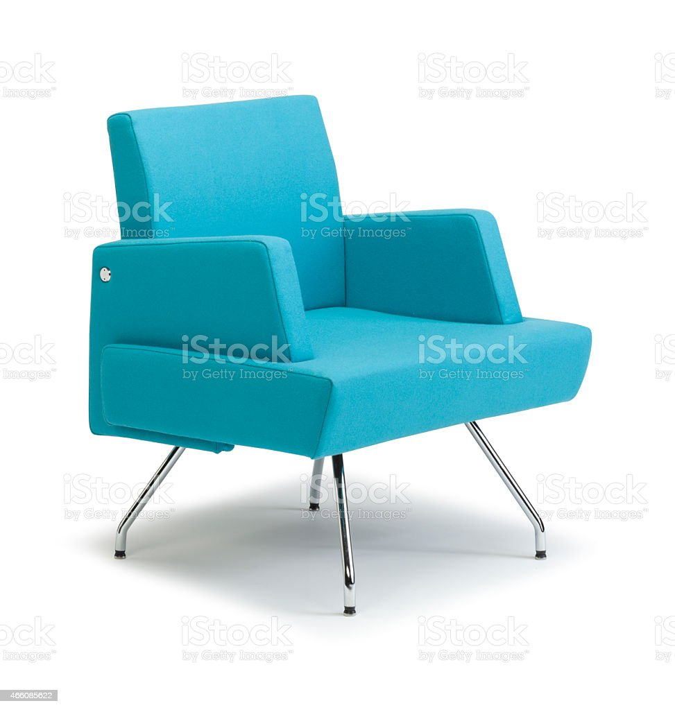 Wedge Chair Side On stock photo