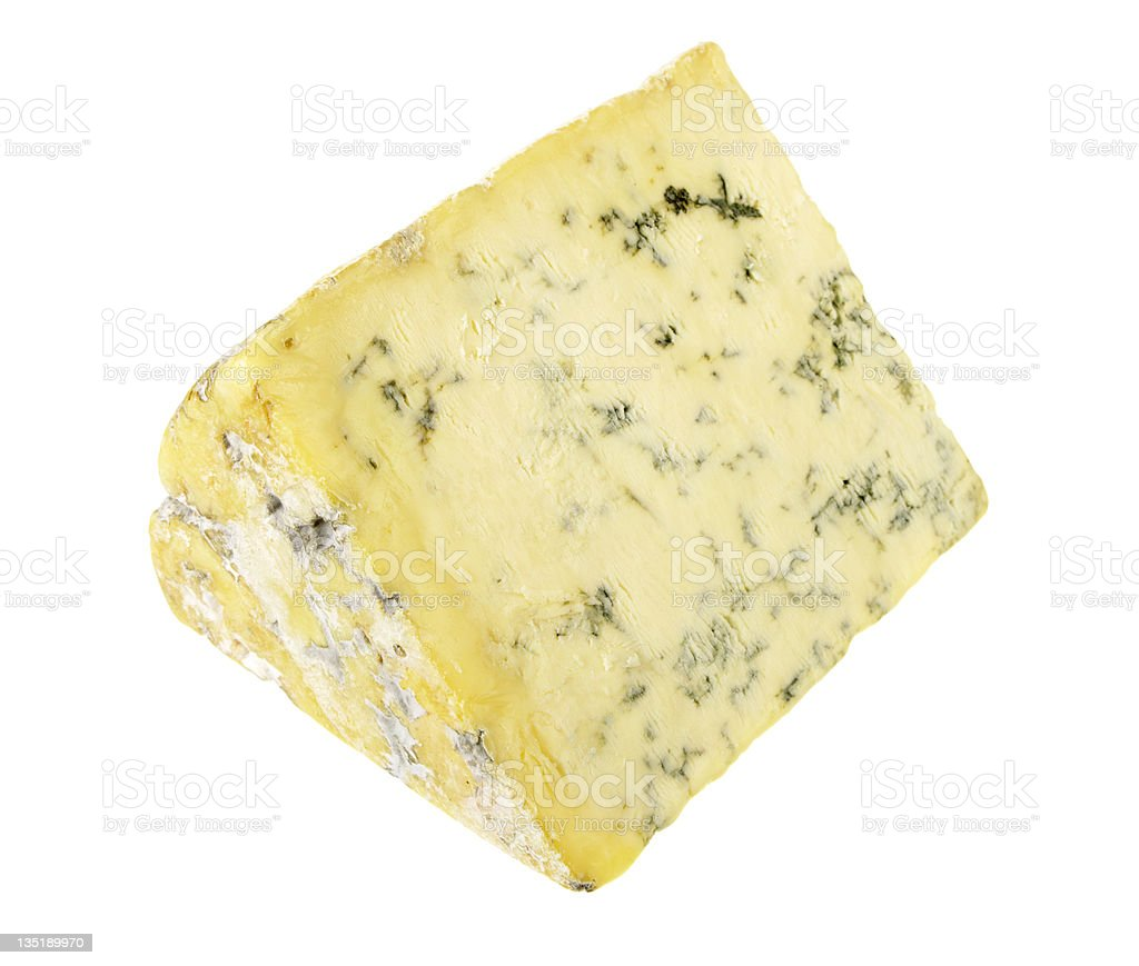 Wedge Of Stilton stock photo