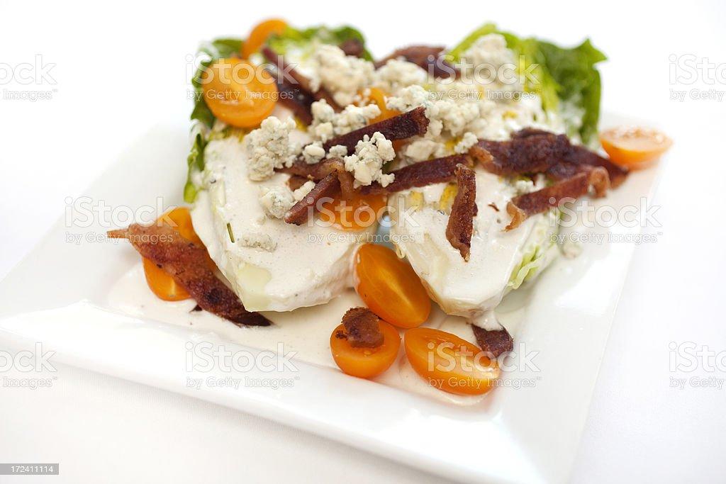 Wedge Salad royalty-free stock photo