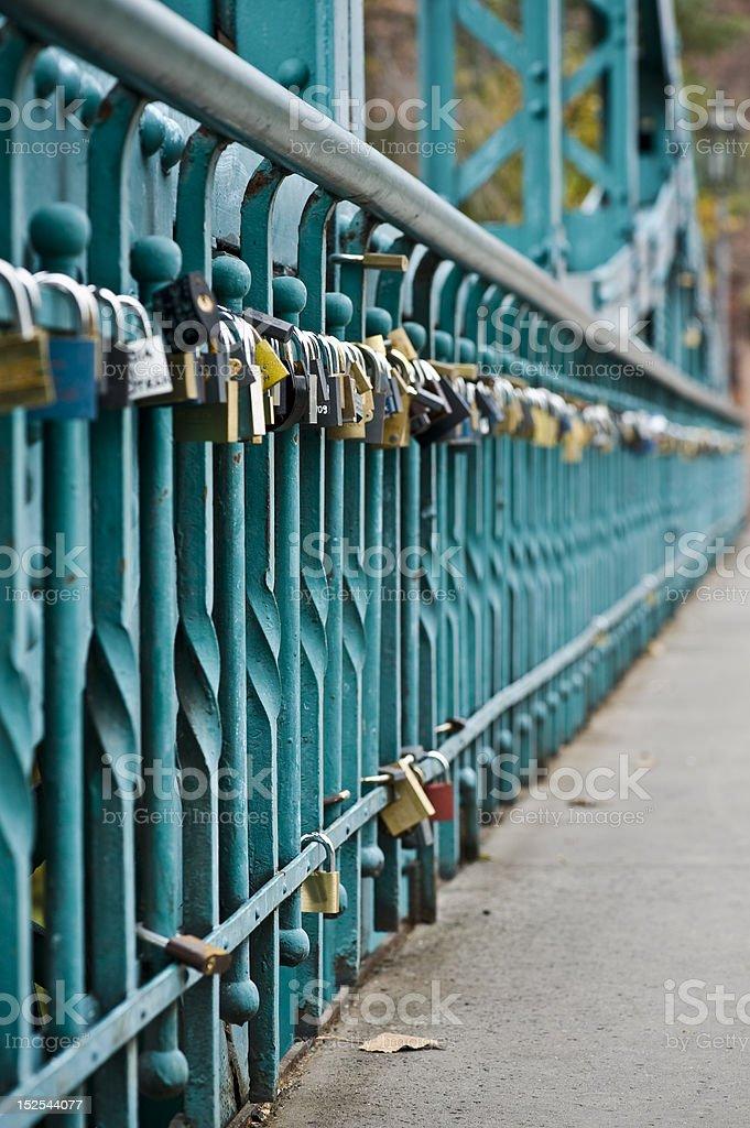 Wedlock Bridge royalty-free stock photo