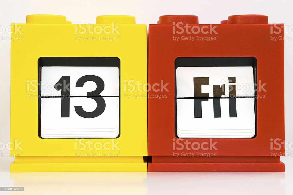 week ,13 Fri stock photo