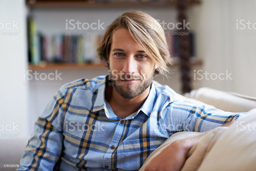 Weekend chilling stock photo