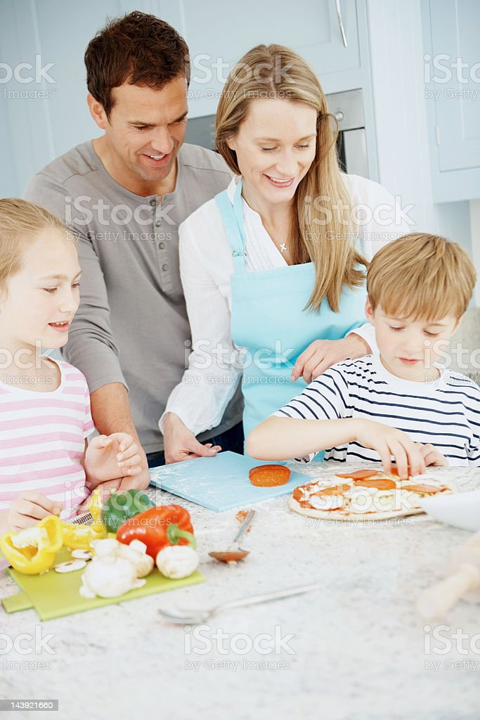 Weekend cooking royalty-free stock photo