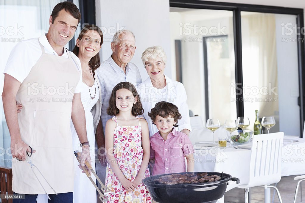 Weekend family gathering! royalty-free stock photo