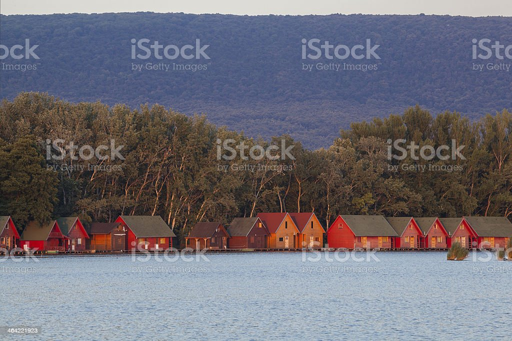 Weekend house royalty-free stock photo
