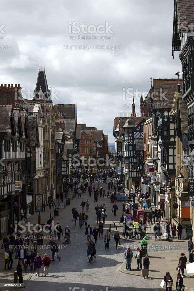 Weekend in Chester royalty-free stock photo