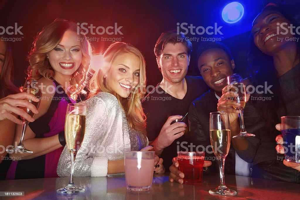 Weekend = Time to party! stock photo