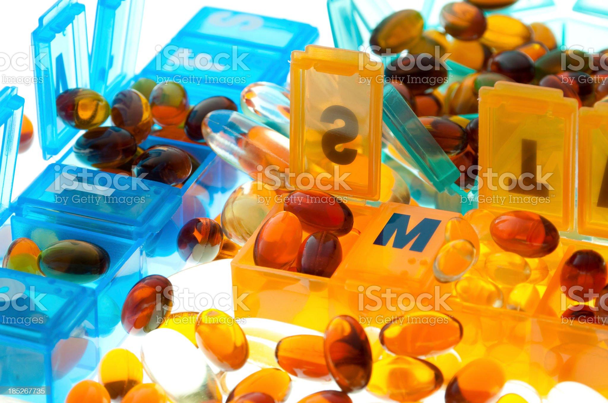 Weekly supplements royalty-free stock photo