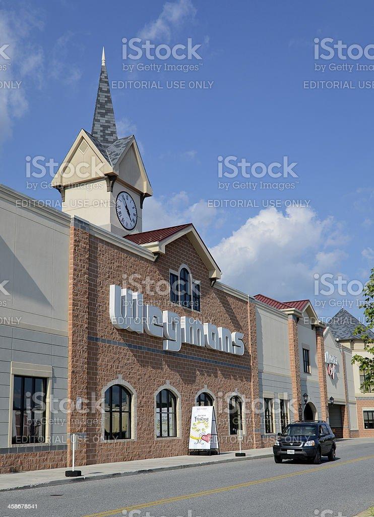 Wegmans Grocery Store stock photo