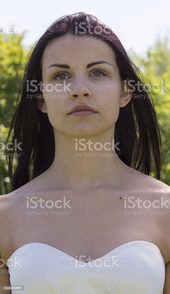 Weibliches Portrait stock photo