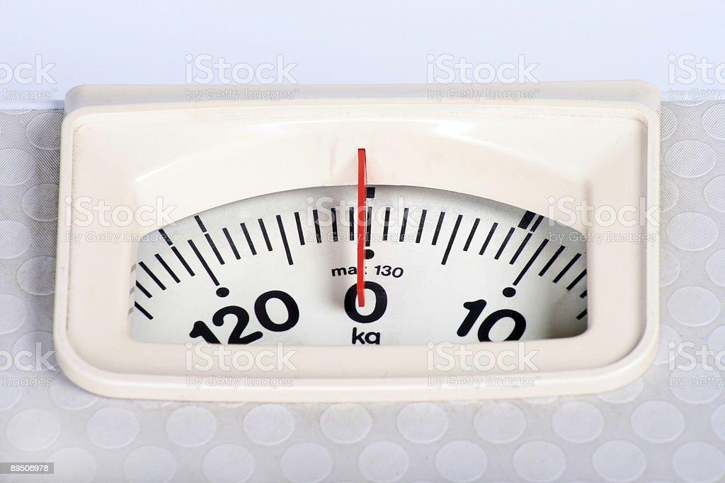 weighing machine royalty-free stock photo