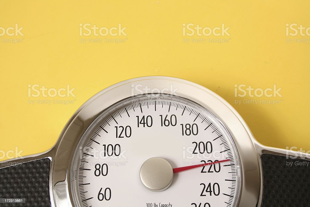 Weighing Scale stock photo