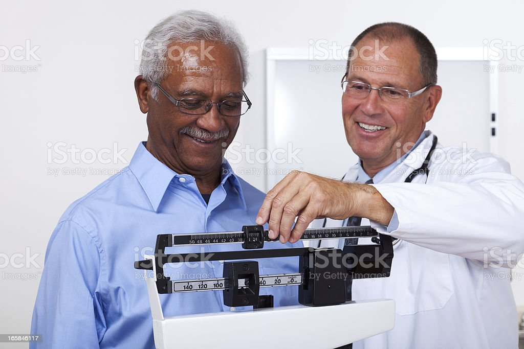 Weight Check royalty-free stock photo