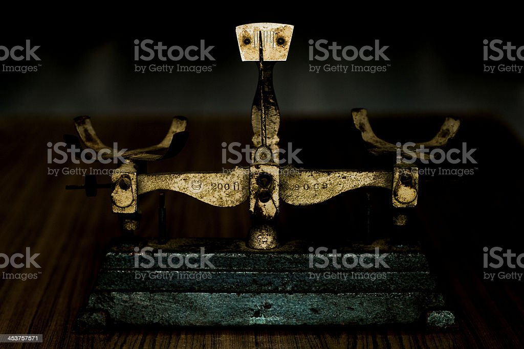 weight checker royalty-free stock photo