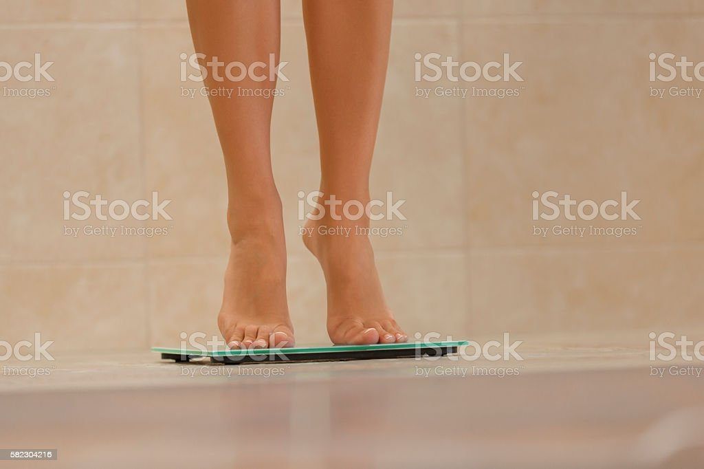 Weight control stock photo